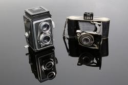 Historische Kameras