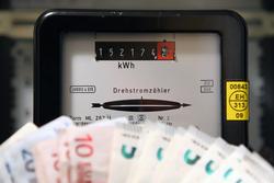 Stromzähler mit Geld III