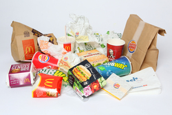 Fastfood Müll