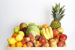 Obst in Kiste