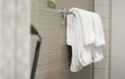 Handtuch im Hotel