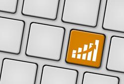 Tastatur Statistik orange