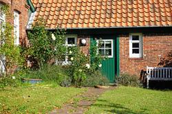 Bauernhaus Tür und Fenster