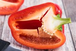 leckere frische Paprika