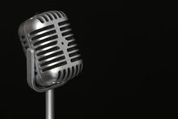 Retro Mikrophon