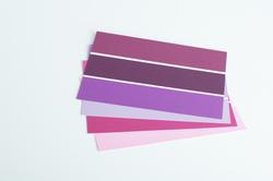 Farbkarte lila