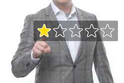1-Sterne-Bewertung