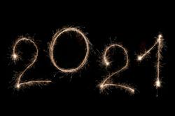 Wunderkerze zu Silferster 2020-2021